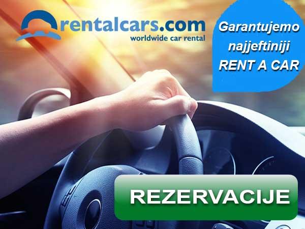 Garantujemo najjeftiniji RENT A CAR