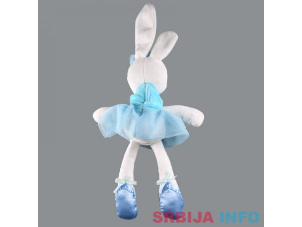 Plišani Zeka - Balerina (roze ili plava haljinica)