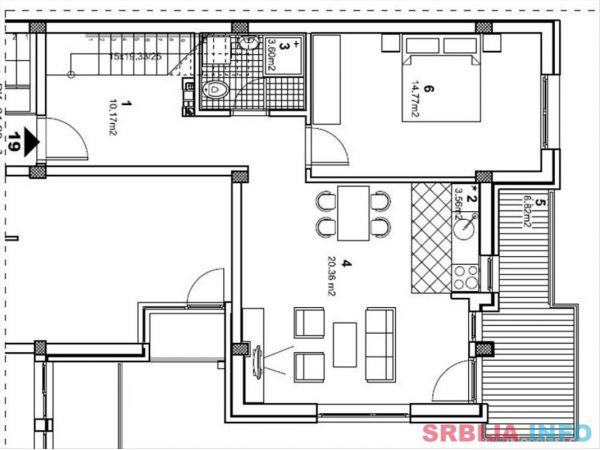 Prodajem stan sa garazom Novi Sad-Grbavica