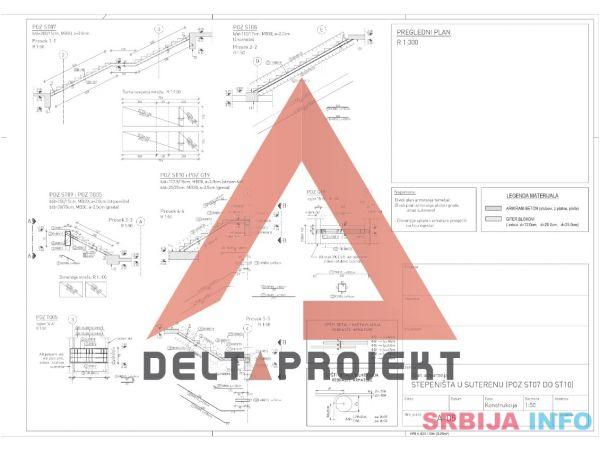 Inženjerske usluge - statika, oplata, armatura