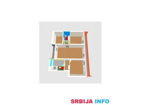 Novi Sad - Kej - Atraktivna lokacija, 4-soban, I sprat