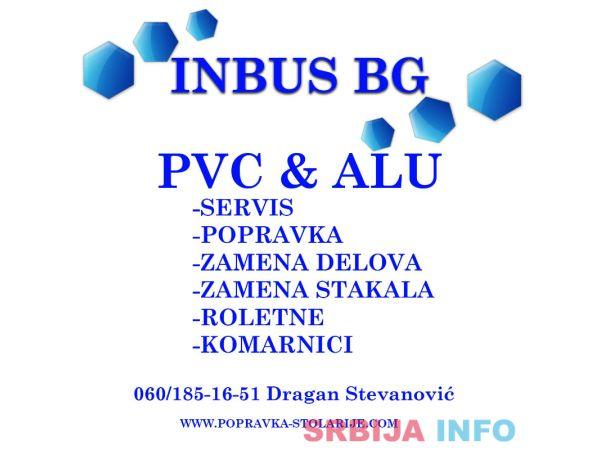 POPRAVKA PVC PROZORA - BEOGRAD