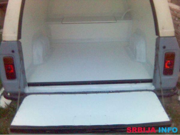 Izolacija kombi vozila i hladnjača