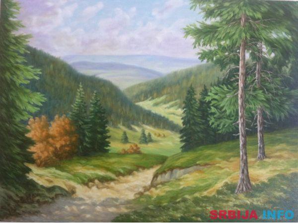 Umjetnička slika - Proplanak
