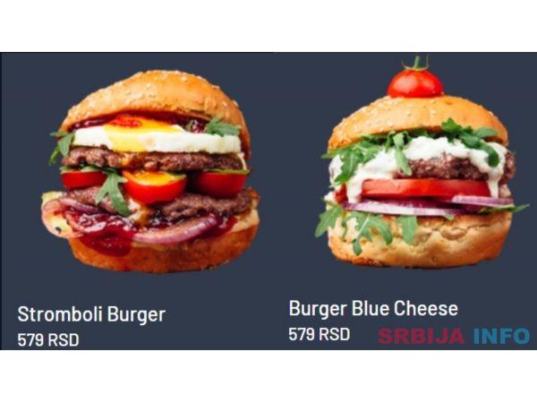 Burgeri dostava Dorcol