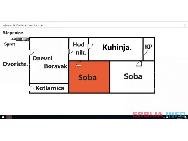 HITNO Stan-Kuca strogi centar 57kw. 061/312-36-43.