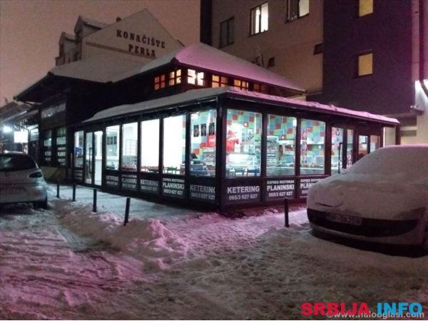 Izdajem (ustupam) ekspres restoran na Zlatiboru