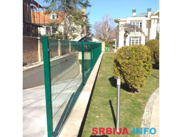 Panelne ograde akcija 3d 123x250 4 mm komplet po duznom metr