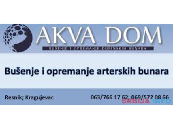 Akva Dom Busenje Bunara Kragujevac