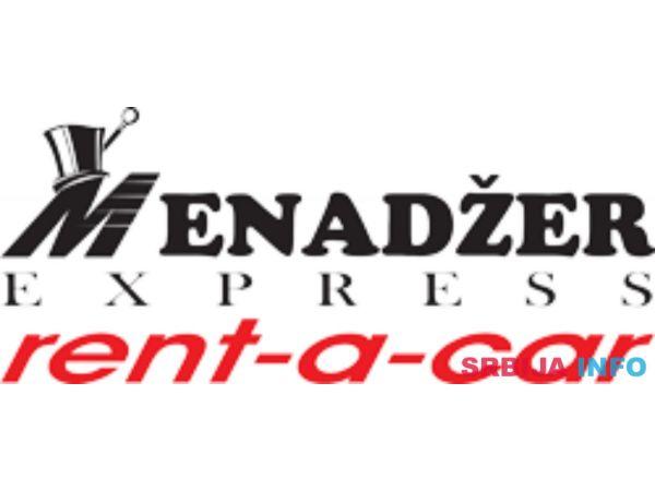Menadžer Express rent a car