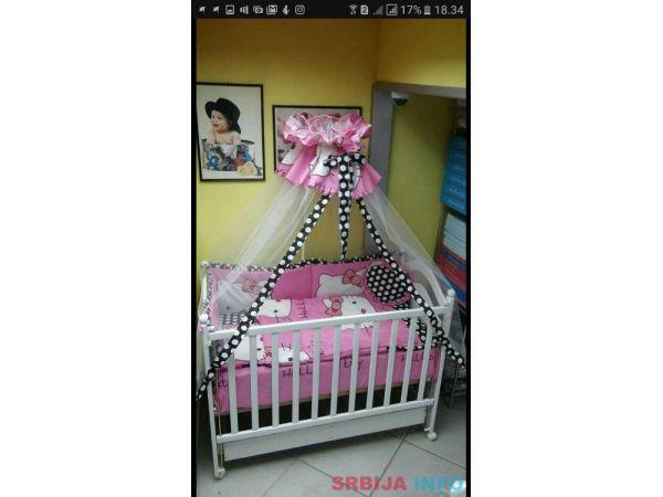 Decija posteljina za krevetac * NOVO*