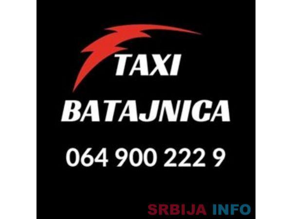 Taksi Batajnica broj telefona - 064 900 222 9