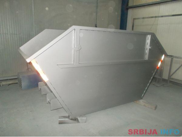 Komunalni kontejneri - URBANA OPREMA NOVI SAD