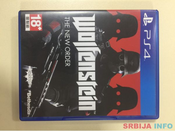PS4 Igra Wolfenstein: The New Order