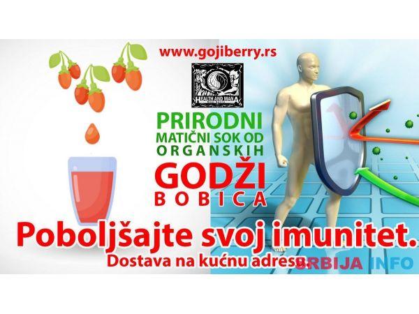 Maticni sok sa pulpom od organskih godzi bobica