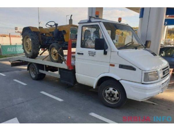 Otkup traktora na teritoriji Srbije
