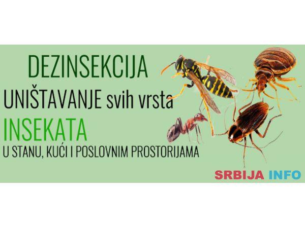 Dezinsekcija, suzbijanje insekata