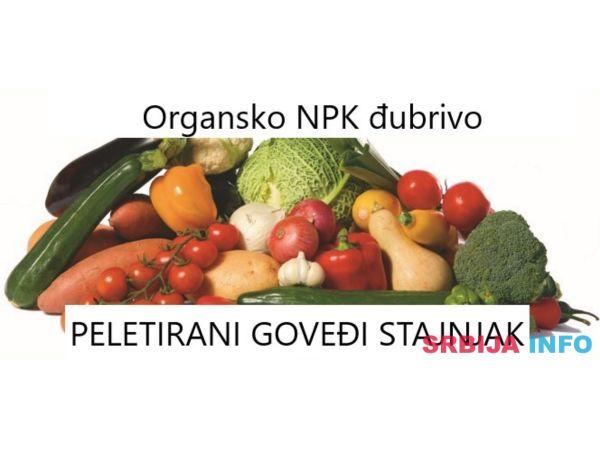Organsko NPK đubrivo - pelet goveđeg stajnjaka
