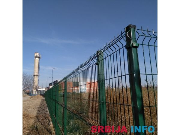 Panelne ograde akcija 3d 203x250 4 mm komplet duzni metar