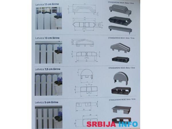 PVC ograda