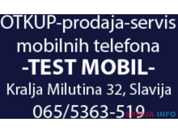 Otkup mobilnih telefon Slavija