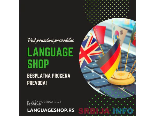 LANGUAGE SHOP PREVODILAČKE USLUGE/SUDSKI TUMAČI