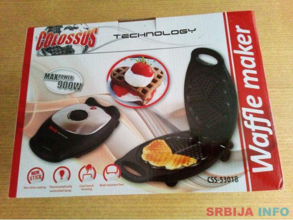 Aparat za galete (bakin kolač) Colossus css-5301b