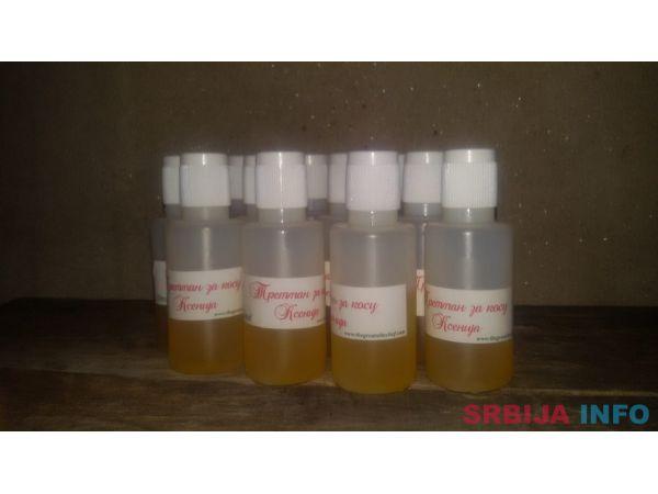 Tretman za kosu Ksenija na bazi ulja i lekovitog bilja