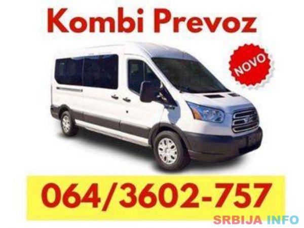 Kombi prevoz robe Stara Pazova - 064 360 27 57
