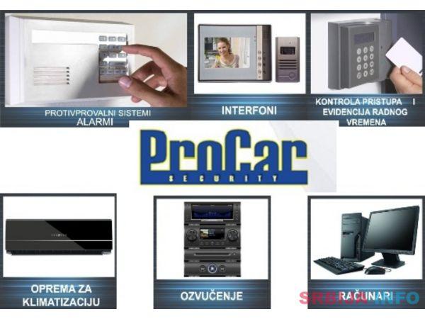 Video nadzori I protivprovalni sistemi