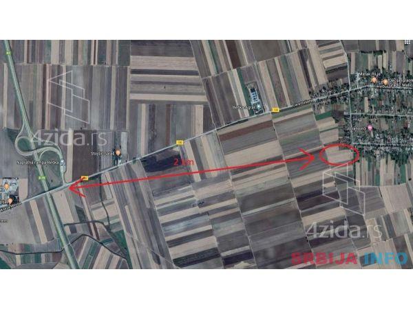 Industrijsko gradjevinsko zemljiste-Krcedin