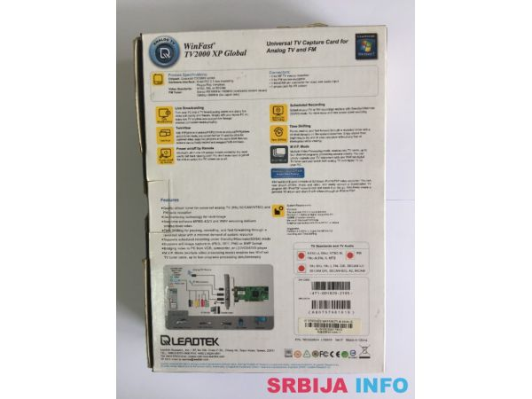 TV-FM card Leadtek