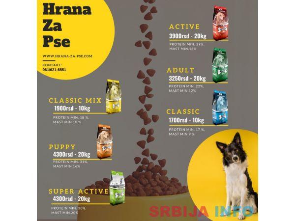 Kvalitetna hrana za pse bez GMO
