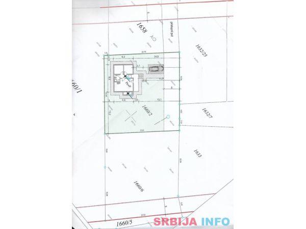 Dva gradjevinska placa, ukupno 13 ari u Arandjelovcu