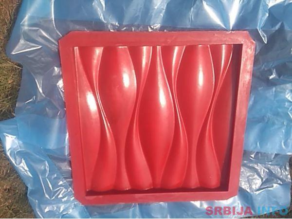 Gumeni kalupi za 3D panele