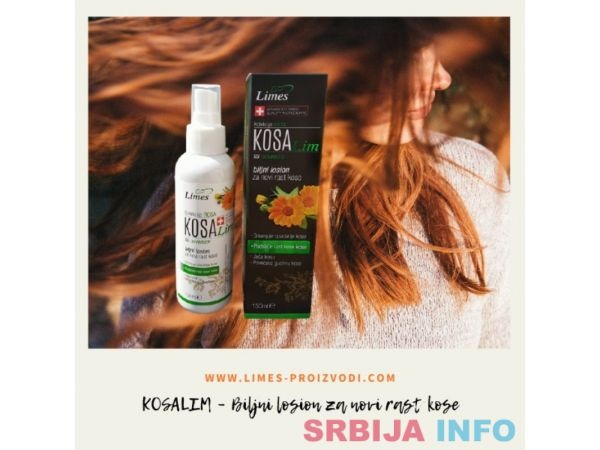 KOSALIM – Biljni losion za novi rast kose