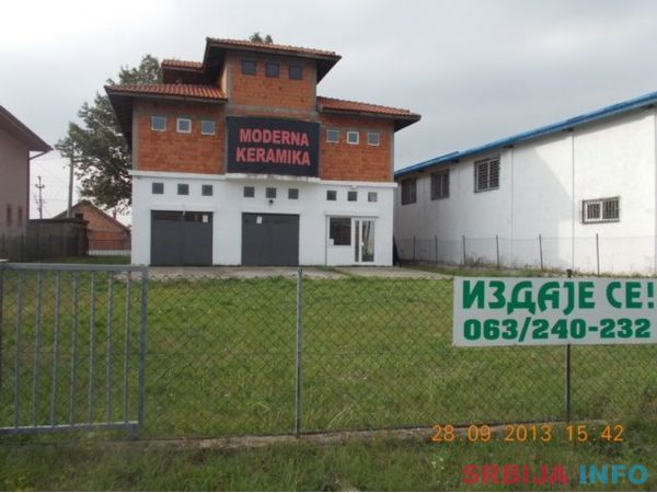 Stambeno-poslovni prostor, Meljak
