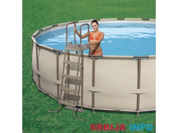 BestWay Bazen 457 x 122 cm - Steel Pro™ Frame