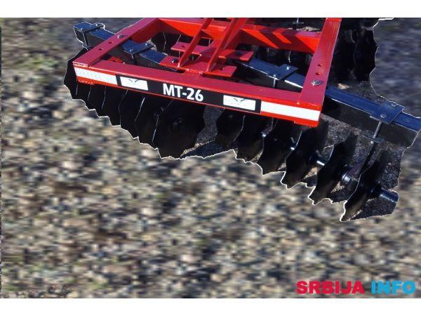 MT GUCIN-26 tanjiraca za obradu neoranog zemljista