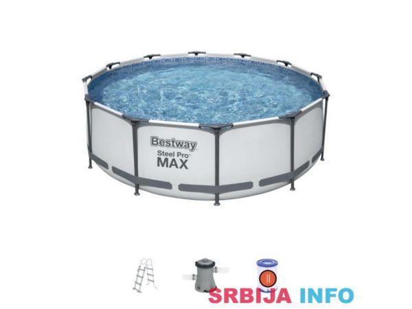 BESTWAY Bazen sa Steel Pro™ konstrukcijom 366x76 cm