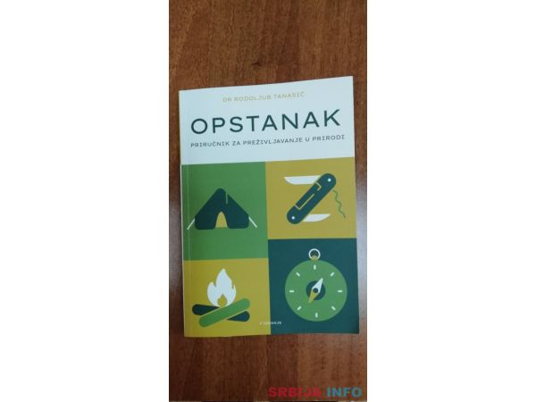Dr Rodoljub Tanasic-knjiga prirucnik za opstanak u prirodi