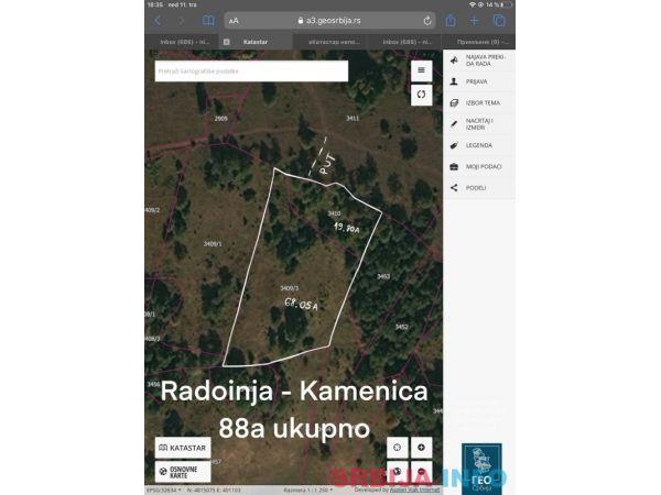 Zemljiste Drmanovici-Zlatar, pogodno za turizam
