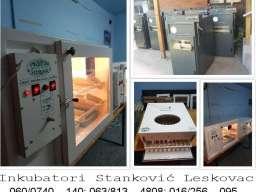 Inkubatori za jaja Stanković -Leskovac