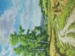 Umjetnička slika - Motiv sa Romanije