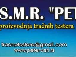 Proizvodnja I servis tracnih testera