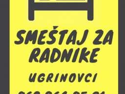 Smestaj za radnike Ugrinovci Beograd
