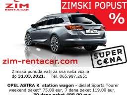 ZIM rent a car Beograd, najbolja zimska ponuda - paket cene