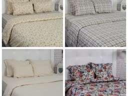 Satenska posteljina i posteljina 4 sezone