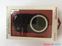 PROMATE CarMate-7 wireless speakerphone crni