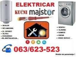 Električar, kućni majstor